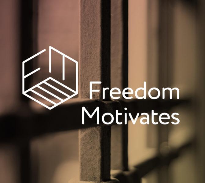 Freedom Motivates logo ontwerp
