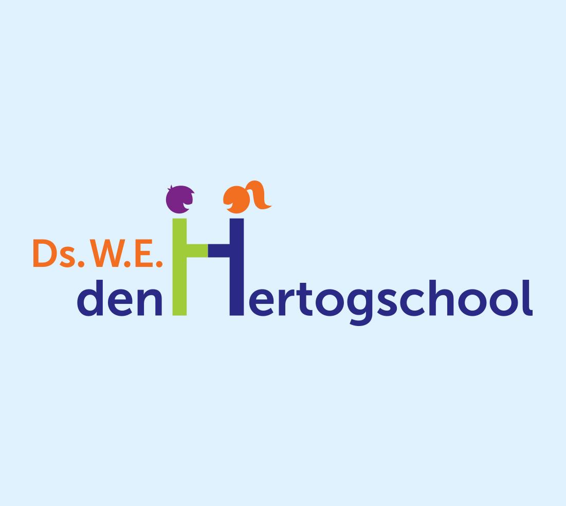 Ds.W.E. Den Hertogschool Logo