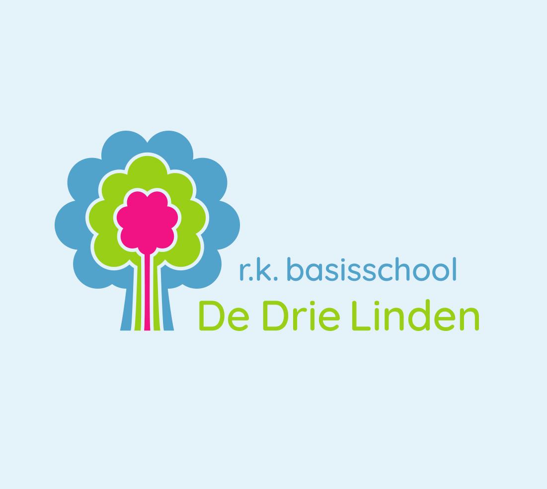 Logo basisschool De Drie Linden