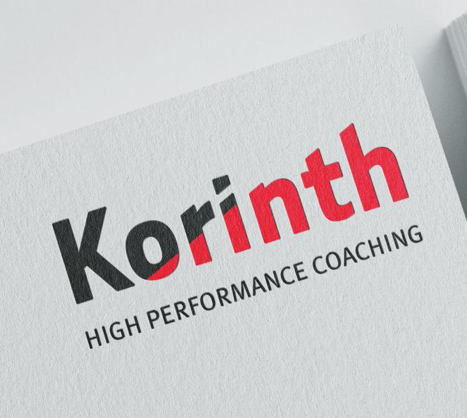 Logo design voor Korinth High Performance Coaching