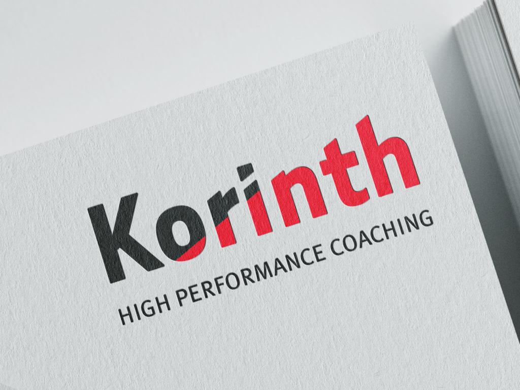 Logo ontwerp Korinth High Performance Coaching